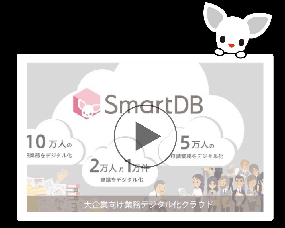 「smartdb」サービス紹介動画